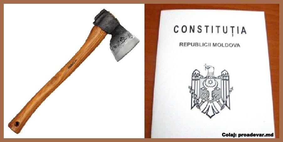 atac la Constituţie