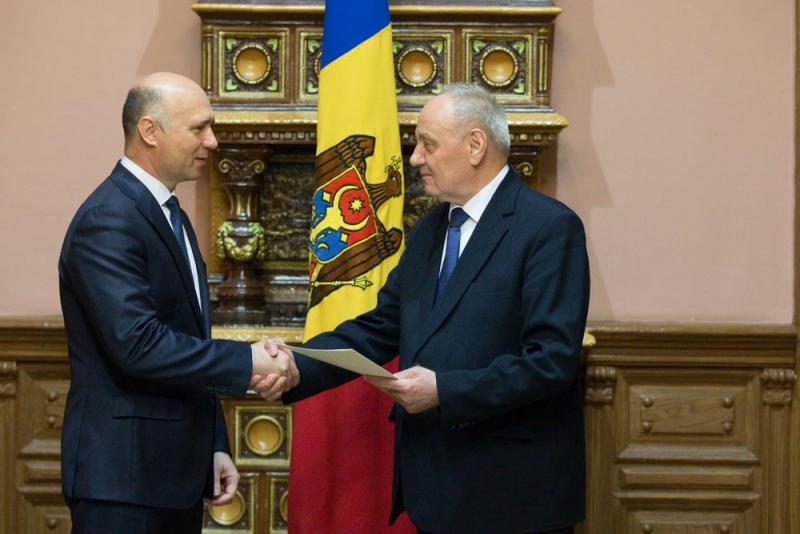 pavel filip, nicoale timofti, republica moldova