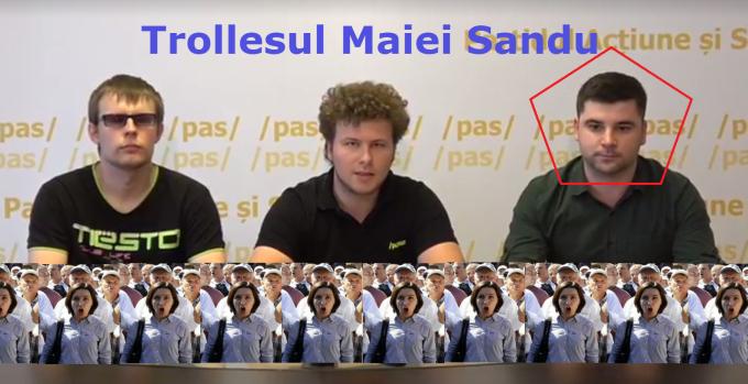 Maia Sandu, Andrei Nastase, PAS, PPDA, trolli