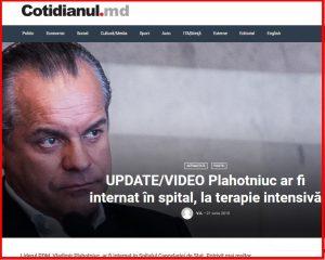 crime, Plahotniuc, Moldova