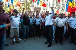 Protestele și-au făcut efectu, Năstase a crescut în sondaje, Maia Sandu a scăzut , pas platforma da