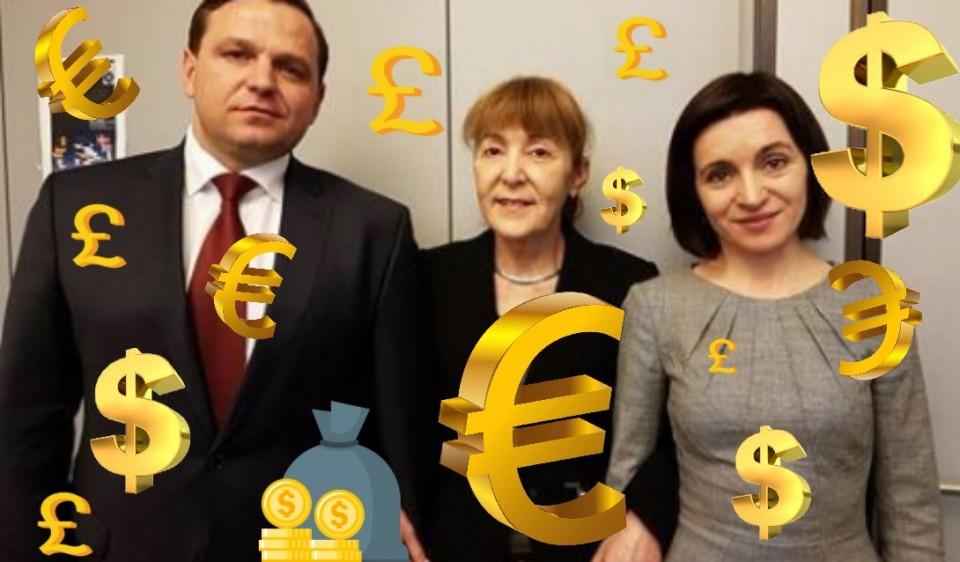 PAS, PPDA, Monica Macovei, Maia Sandu, Andrei NAstase, Romania, Moldova, prostest, Rezist, bani.