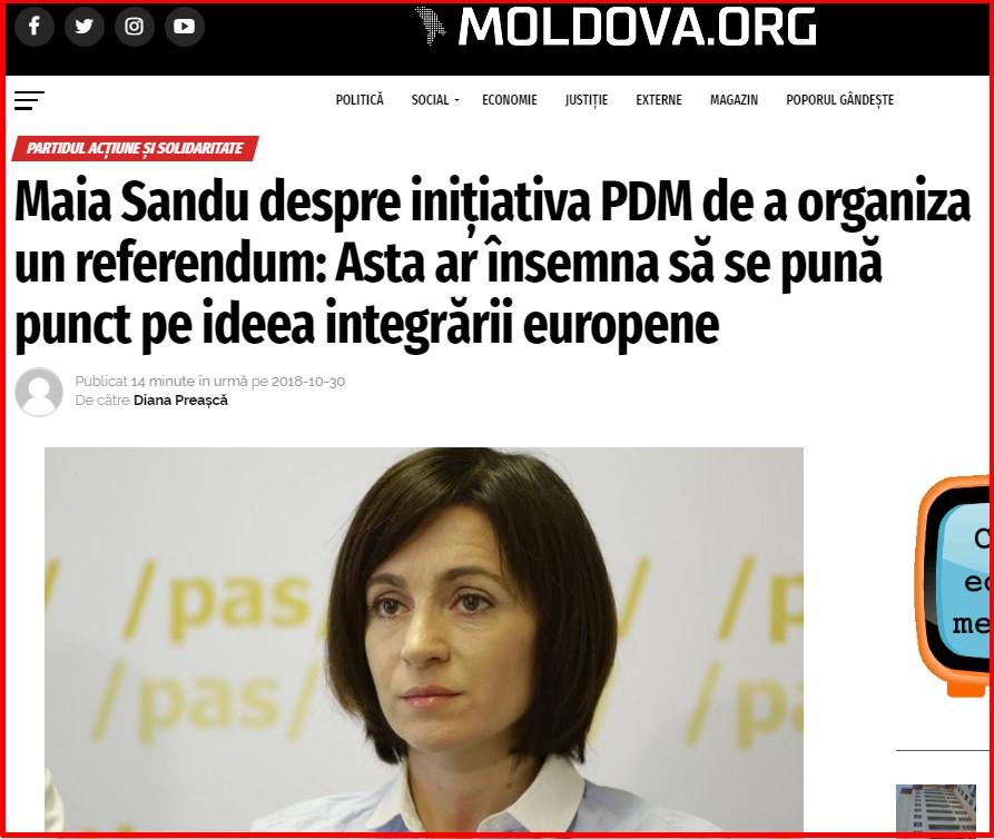 Maia Sandu, Andrei Nastase, PAS, PPDA, Plahotniuc, alegeri, 2018, 2019, PDM, protest, UE