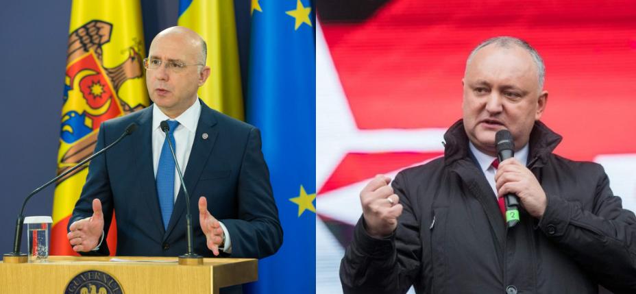 pdm, psrm, Filip nu se duce la Moscova, Dodon nu se duce la București