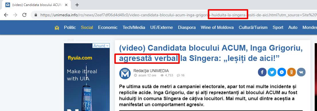 unimedia, Moldova, Chisinau, alegeri, PAS, PPDA, PDM, PSRM, propaganda