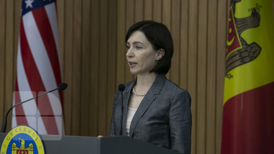 Maia Sandu - Guvern
